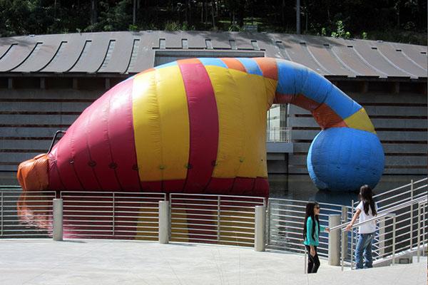 Amphibious Inflatable Suit