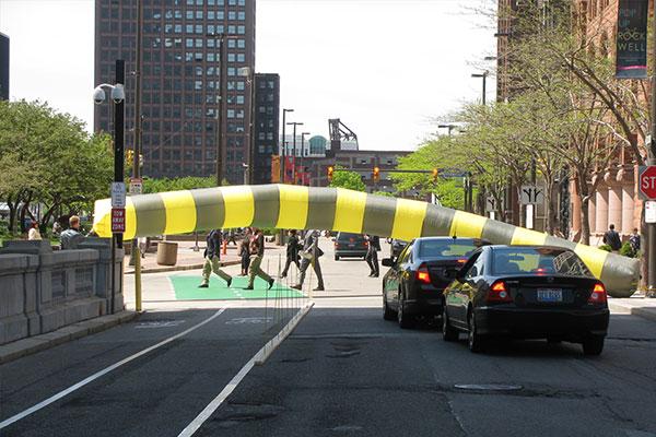 Inflatable Crosswalk
