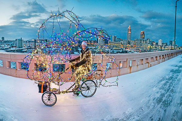 Twinkling Tricycle Tour of Enchantment